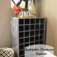Restoration Hardware-Inspired: Wine Cabinet
