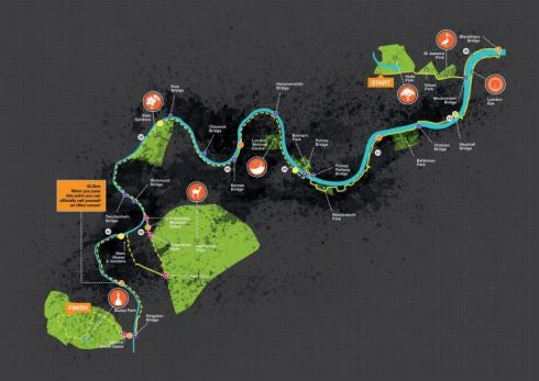 The  Royal Parks Ultra route