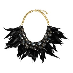 Make a statement with this Blackswan necklace