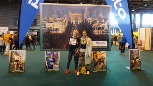 Mum and I at the Paris Expo