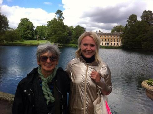 Taking my neighbour Sheila at Kew Gardens