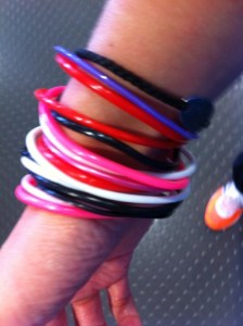 Bands for the laps