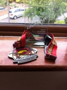 Huge medal
