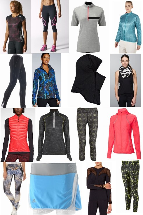 My sportswear picks for this autumn/winter 2014