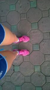 Stretching my legs
