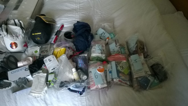 Marathon des Sables packing
