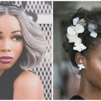 2015 Hair Trends - Black Women Rocking Grey Hair