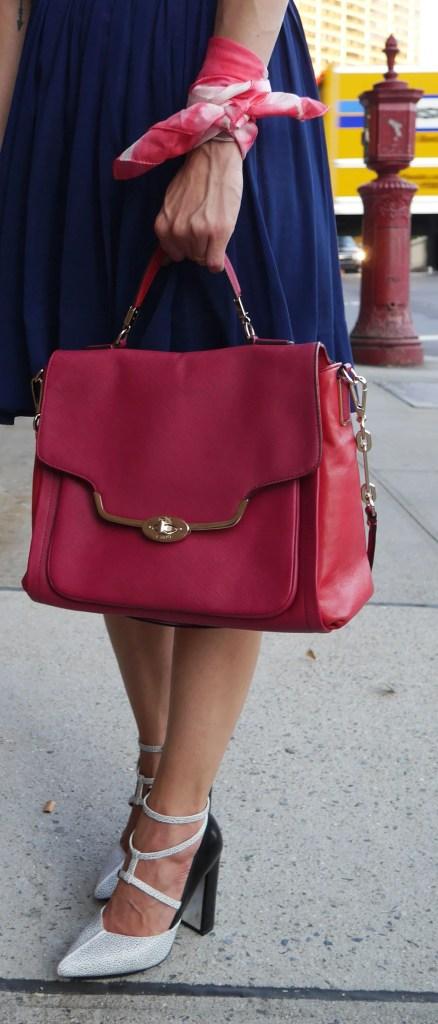 Bag: Coach | Shoes: 3.1 Phillip Lim (Consignment) | Wrist Scarf: Levi's