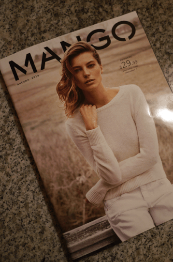 Mango Fall 2014 Catalog