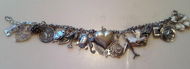 My mom's charm bracelet.