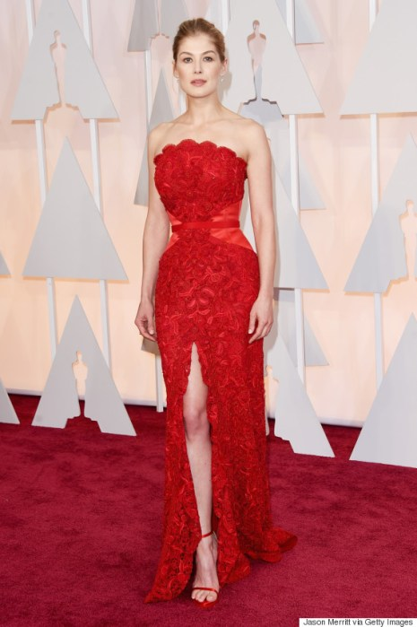 Rosamund Pike in Givenchy.