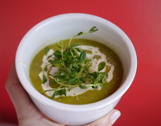 One of my favorite food-related discoveries? The watercress soup from the Hemsley + Hemsley cookbook.