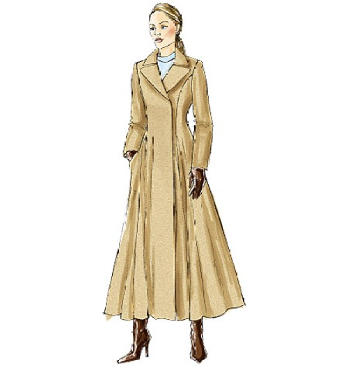 Another variation of the Vogue coat pattern.