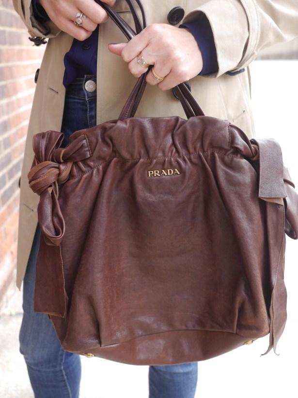 Handbag: Prada (Consignment)