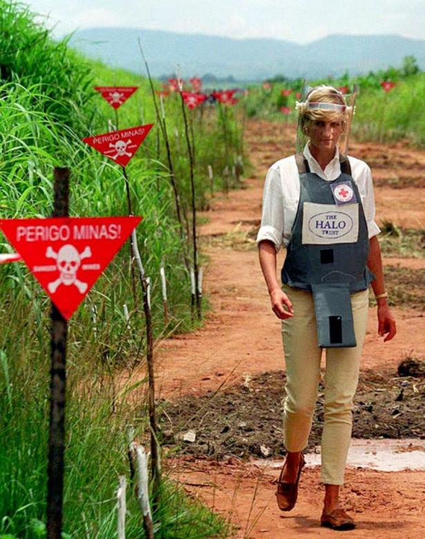 Princess Diana campaigned  against land mines in 1997, and that outfit has clearly stayed with me, even after nearly 20 years.