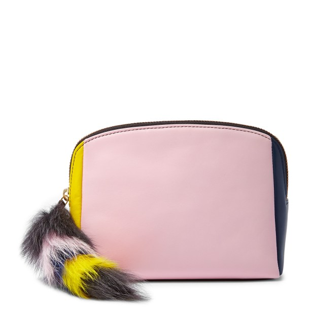 Cosmetic Case with Fur: $95