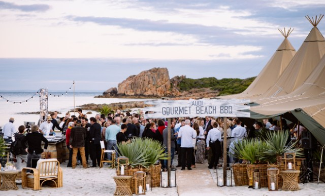 The Style Trust_Gourmet Escape 2015_Audi BBQ Castle Beach 3