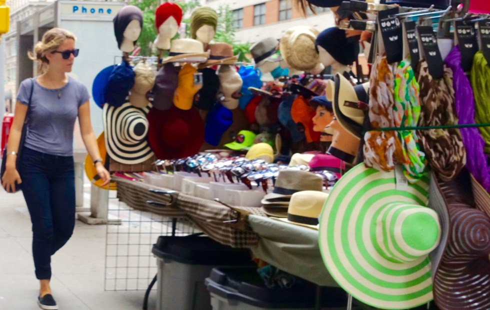 Hats in NYC