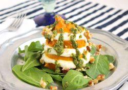Fabulous Gen Beet Whipped Goat Cheese Salad Walnut Mint Pesto Goat Cheese Salad Dressing Honey Goat Cheese Salad Food Wine Whipped Goat Cheese Salad Walnut Mint Pesto Suburban Soapbox Gen Beet