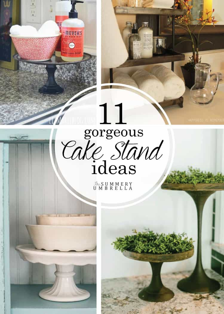 Not only are there an amazing array of cake stands available, but what you can do with them is endless. Check out these cake stand ideas NOW!
