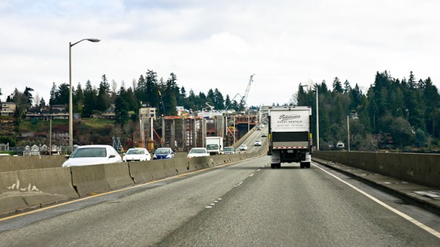 520 construction, east side portal (Photo: MvB)