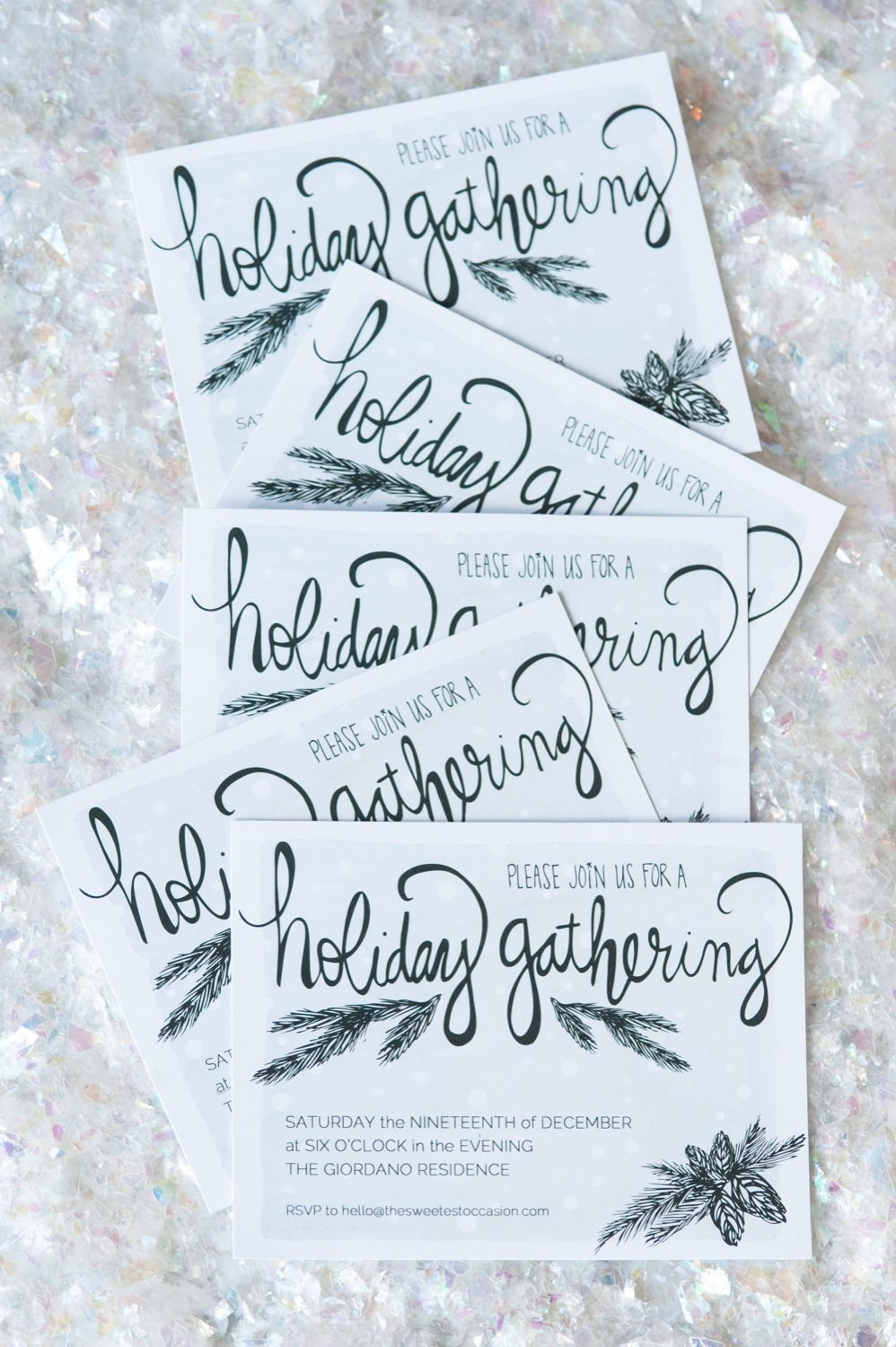 Fullsize Of Holiday Party Invitations