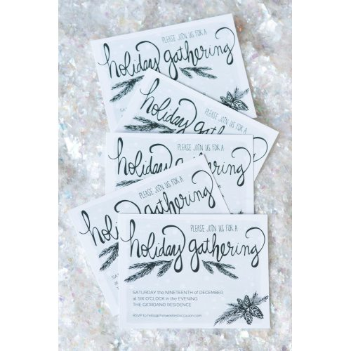 Medium Crop Of Holiday Party Invitations