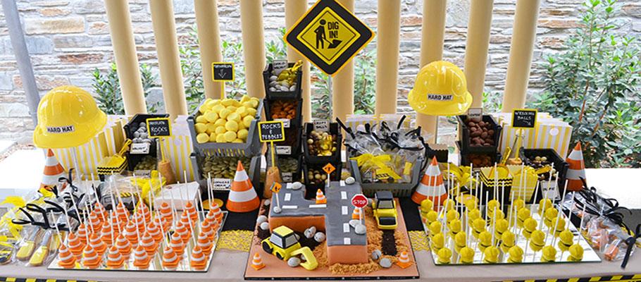 construction-theme-dessert-buffet