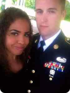 STEVEN AND RAQUEL - Military 2