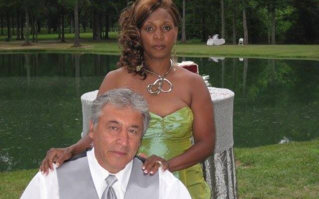 He's Persian – She's African American!