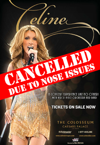Leisure Activities of Céline Dion While Recovering From Sinusitis in Las Vegas
