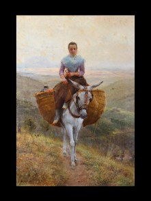 Modesto_Teixidor_y_Torres_-_Women_Riding_a_Donkey_-_Google_Art_Project