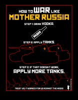 Mother Russia Olive Black