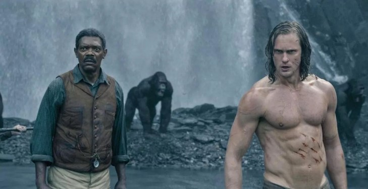 Samuel Jackson and Tarzan
