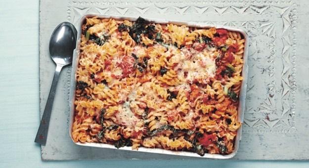 Tuscan Pasta Bake with Cavolo Nero