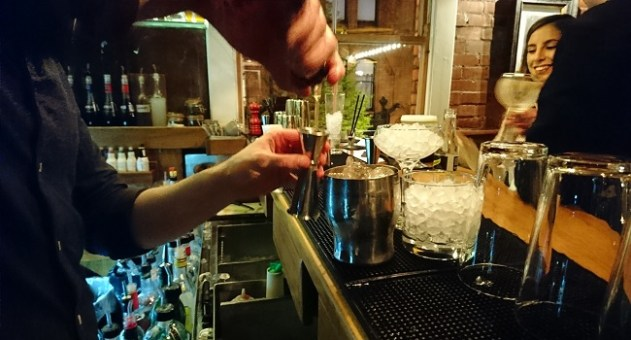 Undercover Bartender: A Night from the Other Side of the Bar at Fade Street Social