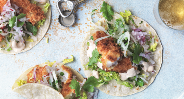Marcus Wareing Fish Tacos Recipe