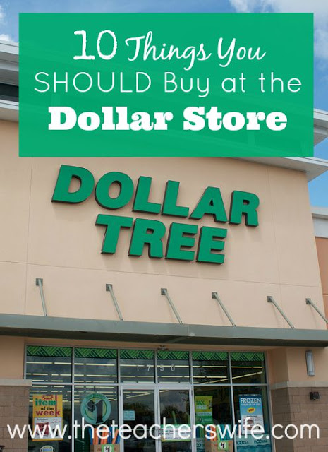 10 Things You Should Buy at the Dollar Store