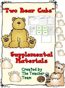 Two Bear Cubs Supplemental Materials