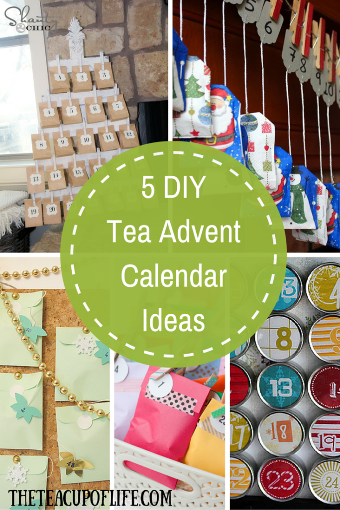 Diy Calendar Nim C : Favourite diy tea advent calendar ideas the cup of life