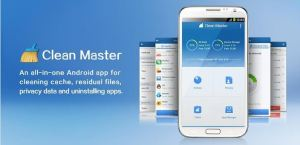 Free Up Space on SD card using Clean Master for Android thetechhacker