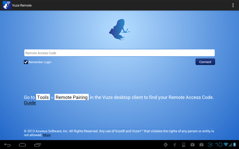 Vuze Officially Launched Vuze Remote Client For Android