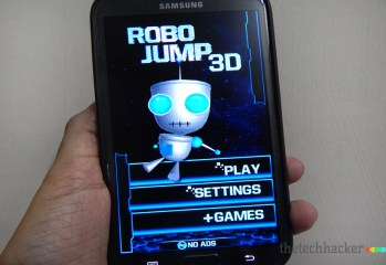 ROBO JUMP 3D-Android Game Review thetechhacker