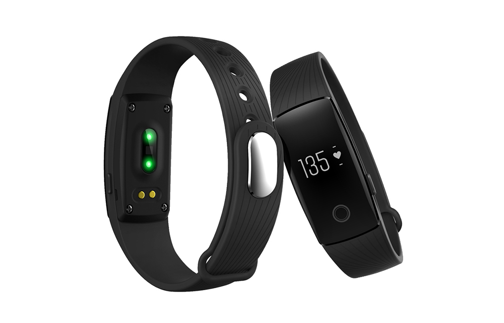 ID107 Bluetooth Smart Watch Heart Rate Monitor Wristband Review