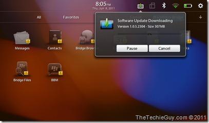 Software upload