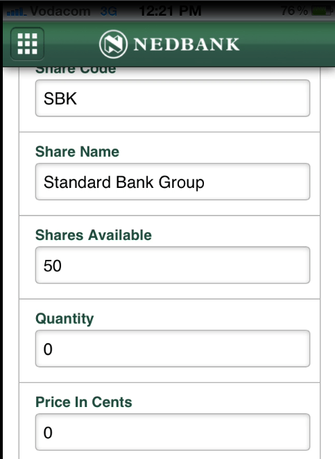 Share trading mobile apps