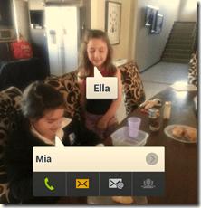 Samsung Galaxy SIII - Social Tag