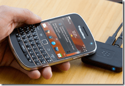 Blackberry Music Gateway