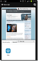 Galaxy Note ICS - Chrome