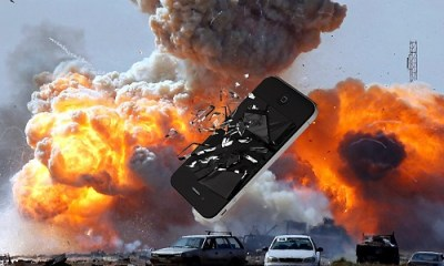 iphone explode